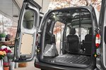 Ford Transit Courier load space