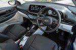 Hyundai i20 2020 front seats