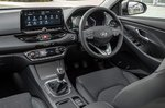 Hyundai i30 hatchback 2020 front seats