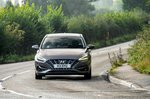 Hyundai i30 hatchback 2020 wide cornering