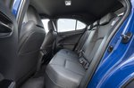 Lexus UX300e 2020 rear seats