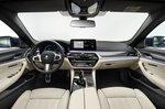 BMW 5 Series saloon 2020 dashboard