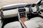 Range Rover 2021 dashboard