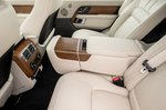 Range Rover 2021 rear seats