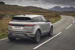 Range Rover Evoque 2020 rear tracking