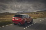 Range Rover Sport 2020 rear tracking