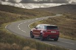 Range Rover Sport 2020 wide rear cornering