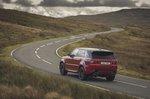 Range Rover Sport 2020 wide rear cornering