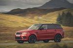 Range Rover Sport 2020 left panning
