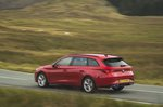 Seat Leon Estate 2020 left rear tracking