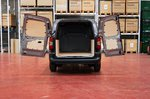 Toyota Proace City van rear doors open