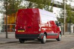 Vauxhall Movano rear action photo