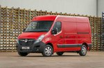 Vauxhall Movano side static