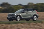Volvo XC40 Recharge 2020 wide front tracking