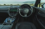Aston Martin DBX 2020 dashboard