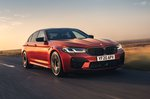BMW M5 2020 front tracking