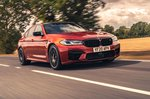 BMW M5 2020 wide front tracking