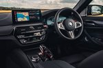 BMW M5 2020 dashboard