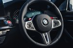 BMW M5 2020 steering wheel detail
