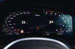 BMW M5 2020 instrument cluster
