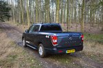 Ssangyong Musso 2020 rear static