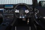 Mercedes C63 S 2020 dashboard