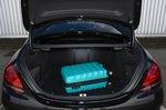 Mercedes C63 S 2020 boot open