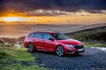 Skoda Octavia vRS Estate 2020 Front 3/4 static
