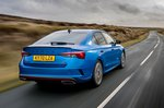 Skoda Octavia vRS Hatchback 2020 Rear 3/4 tracking