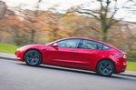 Tesla Model 3 2021 left panning