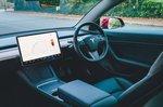 Tesla Model 3 2021 dashboard