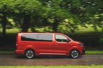 Vauxhall Vivaro-e Life side tracking