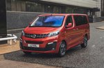 Vauxhall Vivaro-e Life 2020 static three-quarters