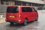 Vauxhall Vivaro-e Life 2020 rear three-quarters