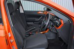 Volkswagen Polo 2020 front seats