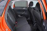 Volkswagen Polo 2020 rear seats