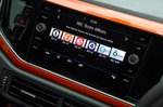 Volkswagen Polo 2020 infotainment touchscreen