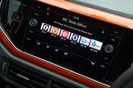 Volkswagen Polo 2020 infotainment touchscreen