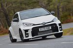 Toyota GR Yaris 2020 front right cornering