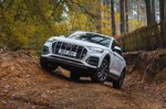 Audi Q5 2021 Off-road front tracking
