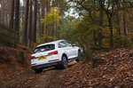 Audi Q5 2021 Off-road rear tracking