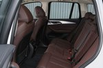 BMW iX3 2020 Rear seats