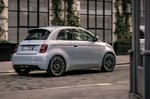 Fiat 500 Electric 2020 rear right tracking