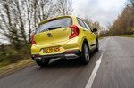 Kia Picanto 2021 Rear 3/4 tracking