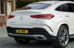 Mercedes GLE Coupé Rear 3/4