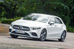 Mercedes A-Class A250e AMG Line front