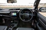 Toyota Hilux 2021 Dashboard