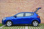 Dacia Sandero 2021 Left static, hatchback open