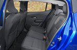 Dacia Sandero 2021 Rear seats