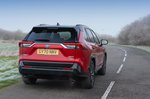 Toyota RAV4 PHEV 2021 rear left tracking